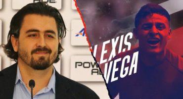 ¡Amaury Vergara hace oficial la llegada de Alexis Vega a Chivas!