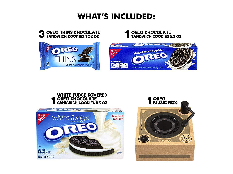 ¡Gordura musical! Checa el tocadiscos de Oreo con galletas reales que tocan música