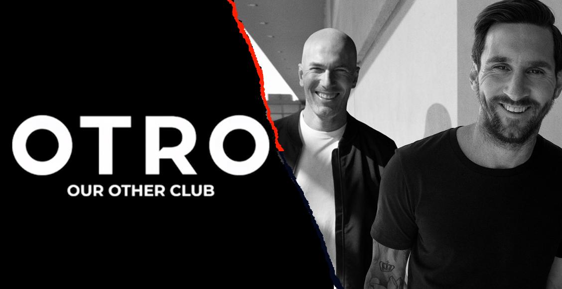 El vinculo digital entre Lionel Messi y Zinedine Zidane