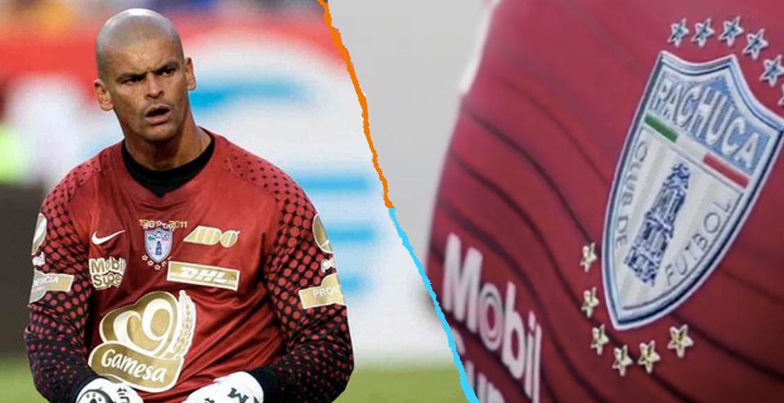 ¡Enorme gesto! Pachuca rinde homenaje a Miguel Calero con uniforme conmemorativo