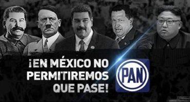 Comparando a AMLO con Hitler y Stalin: Así la nueva campaña del PAN