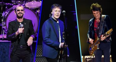 Paul McCartney, Ringo Starr y Ronnie Wood se unieron para interpretar 'Get Back'