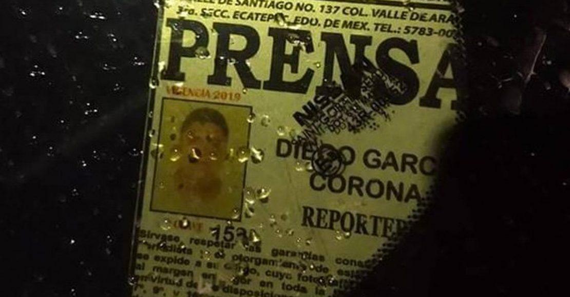 Asesinan en Ecatepec al periodista Diego García Corona