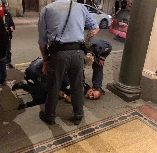 Peter Murphy terminó arrestado después de su día de furia