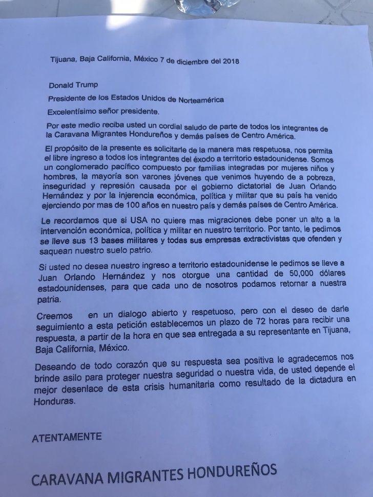 pliego-petitorio-caravana-migrante-honduras-50-mil-dolares