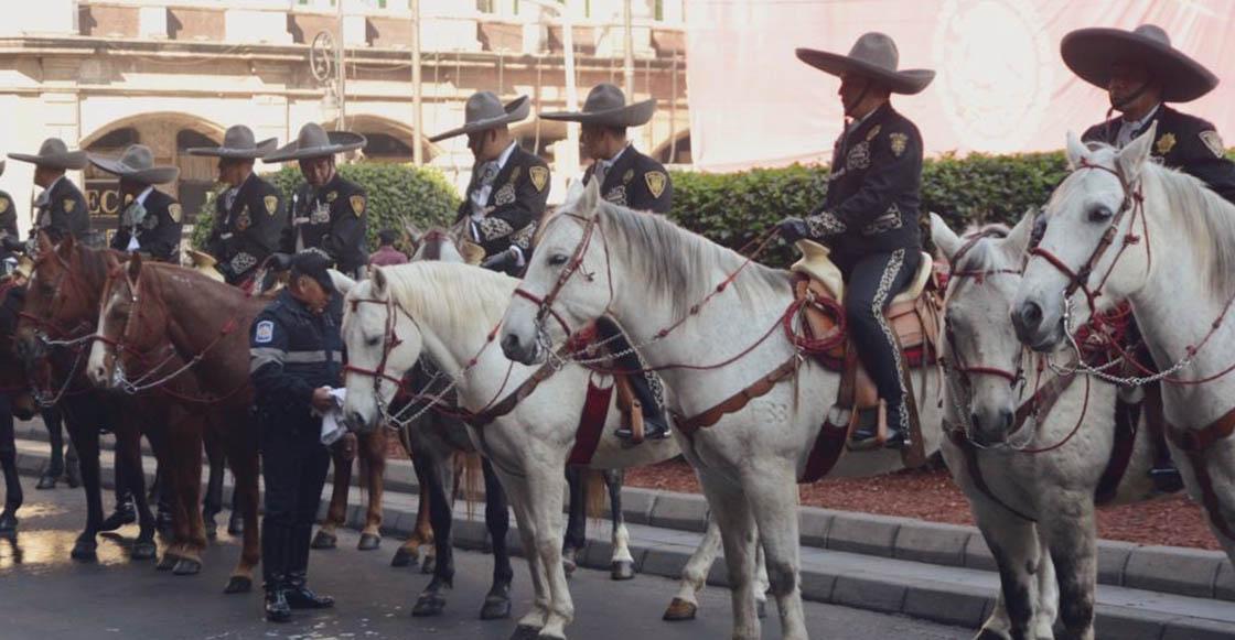 A combatir el crimen en cuatro patas: Regresa la Policía Charra a CDMX