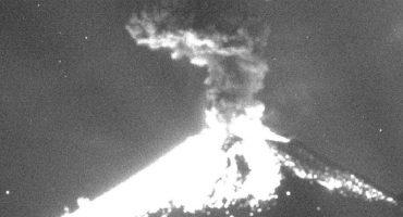 Estas imágenes muestran la intensidad de la explosión del Popocatépetl
