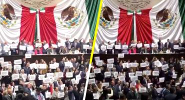 '¡No más moches!', le gritan al PRI y PAN en su protesta contra proyecto de presupuesto 2019