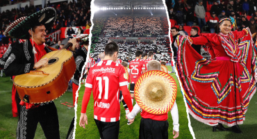 El emotivo y colorido homenaje del PSV Eindhoven a México 🙌🇲🇽