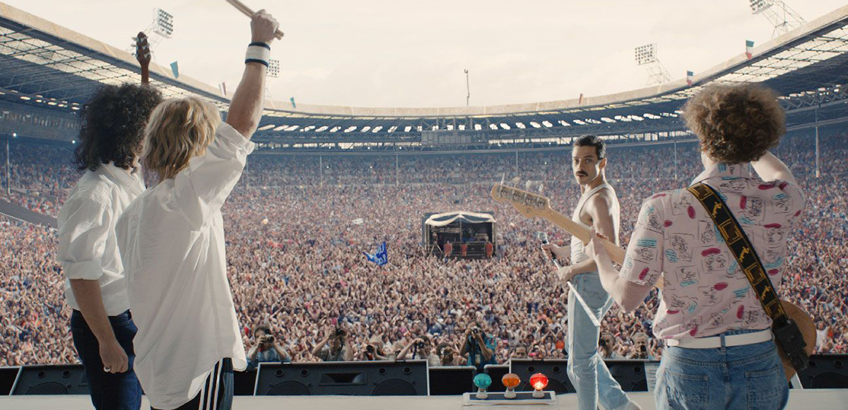 We are the champions! 'Bohemian Rhapsody' es la biopic musical más taquillera en la historia