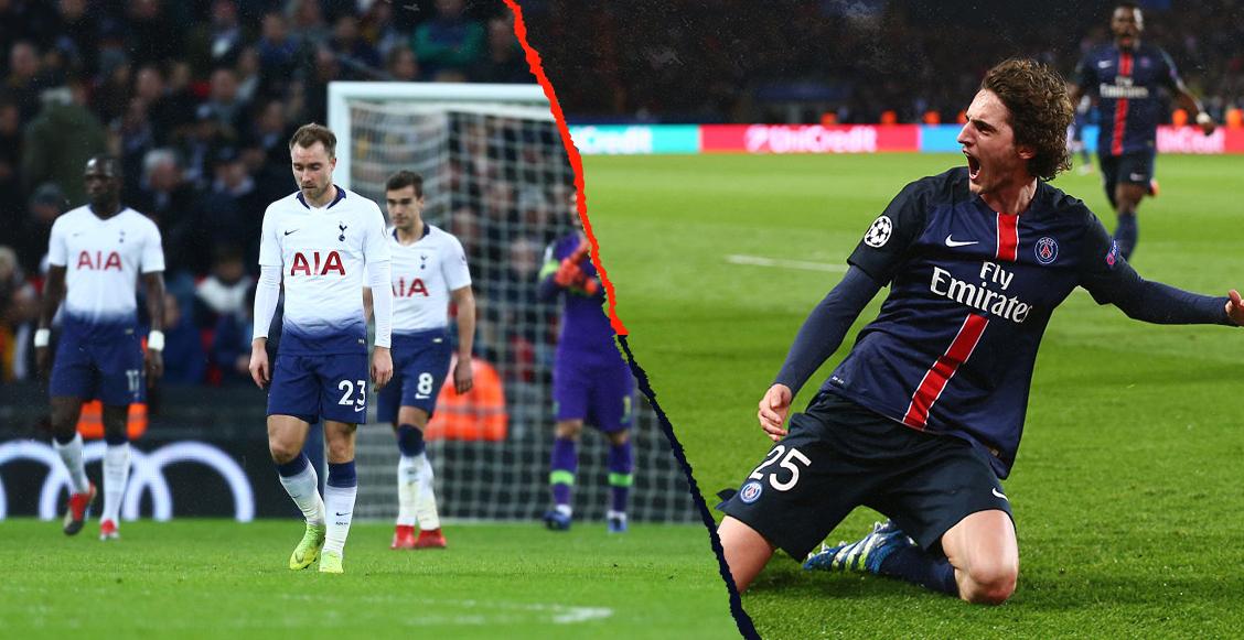 Rabiot 'bateó' al Tottenham porque está 'por debajo de su nivel' y dejó su futuro en el aire