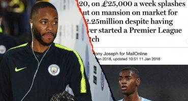 ¡Raheem Sterling acusa a periódicos de fomentar el racismo luego de recibir ataques contra Chelsea!