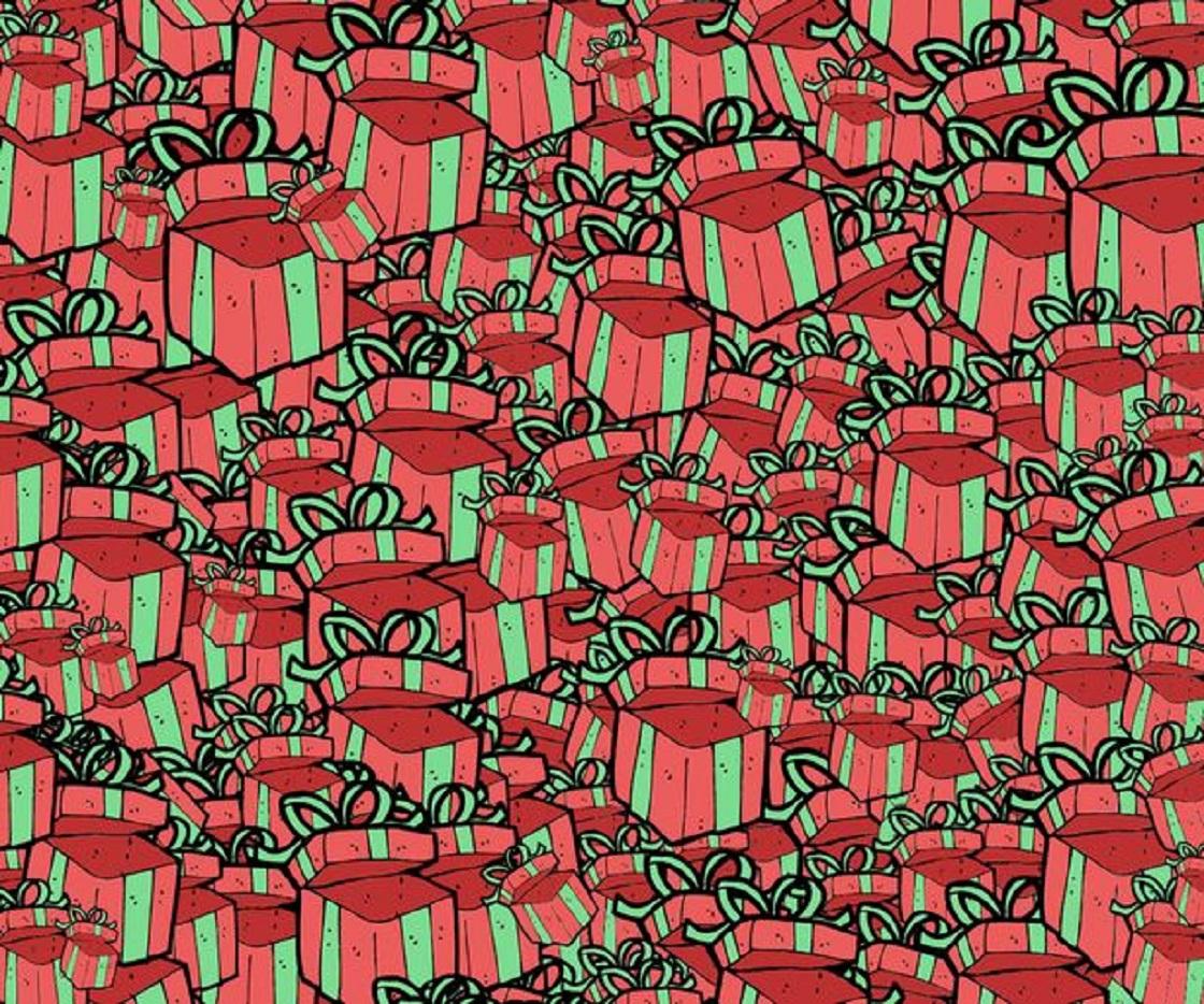 Ilusión óptica - Regalos de Navidad