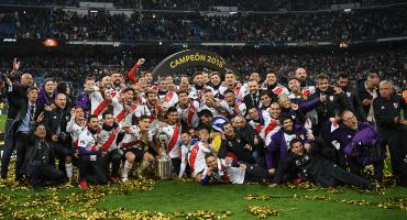 Los goles con los que River se coronó en la Copa Libertadores ante Boca