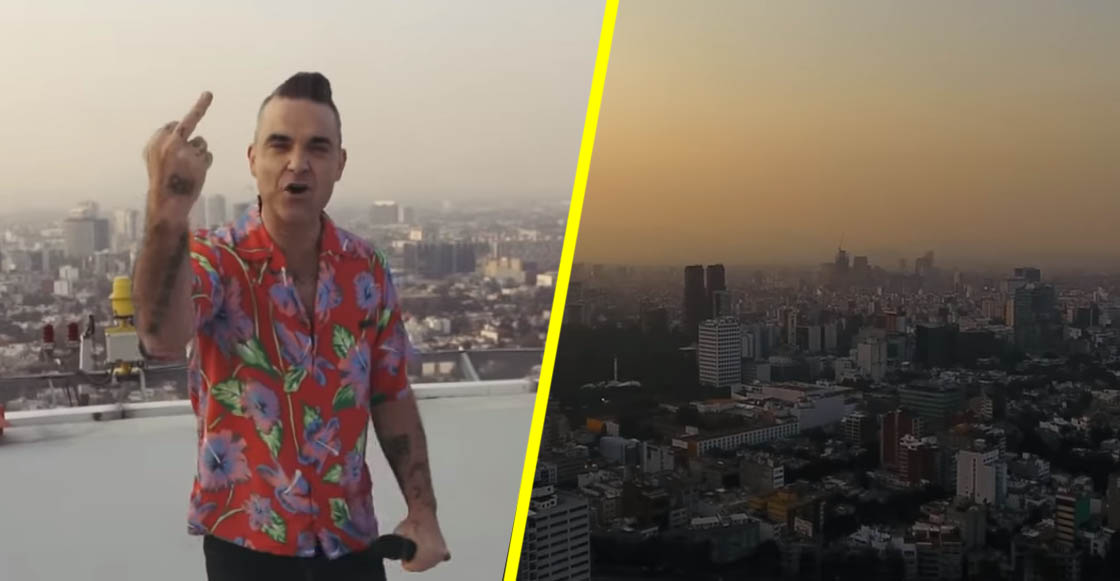Robbie Williams estrena video musical grabado en la CDMX
