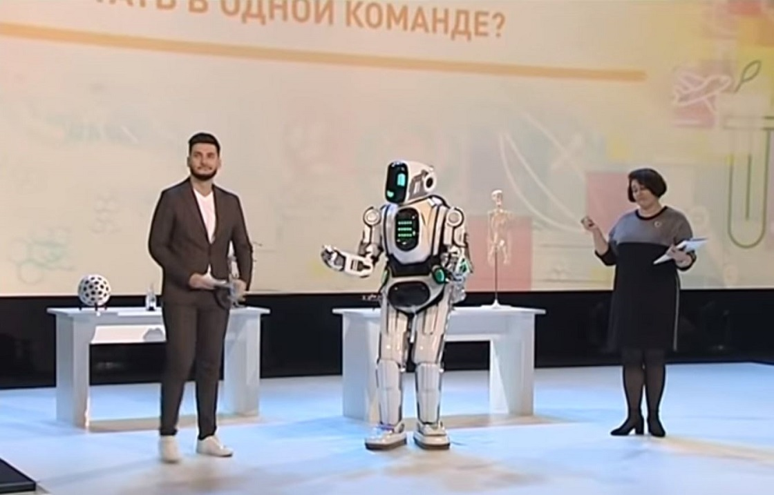 Boris - El robot falso que hizo ruido en Rusia