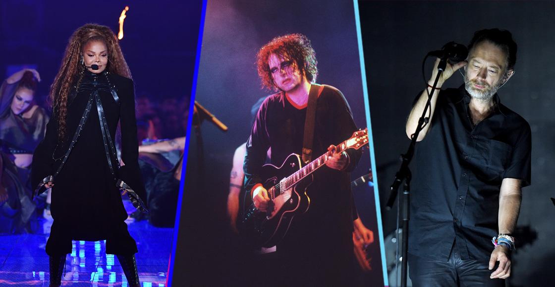 Radiohead, The Cure y más entran al Salón de la Fama del Rock & Roll 2019