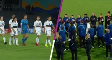 La Selección de España le hizo pasillo al Tri Femenil Sub 17 tras la Final
