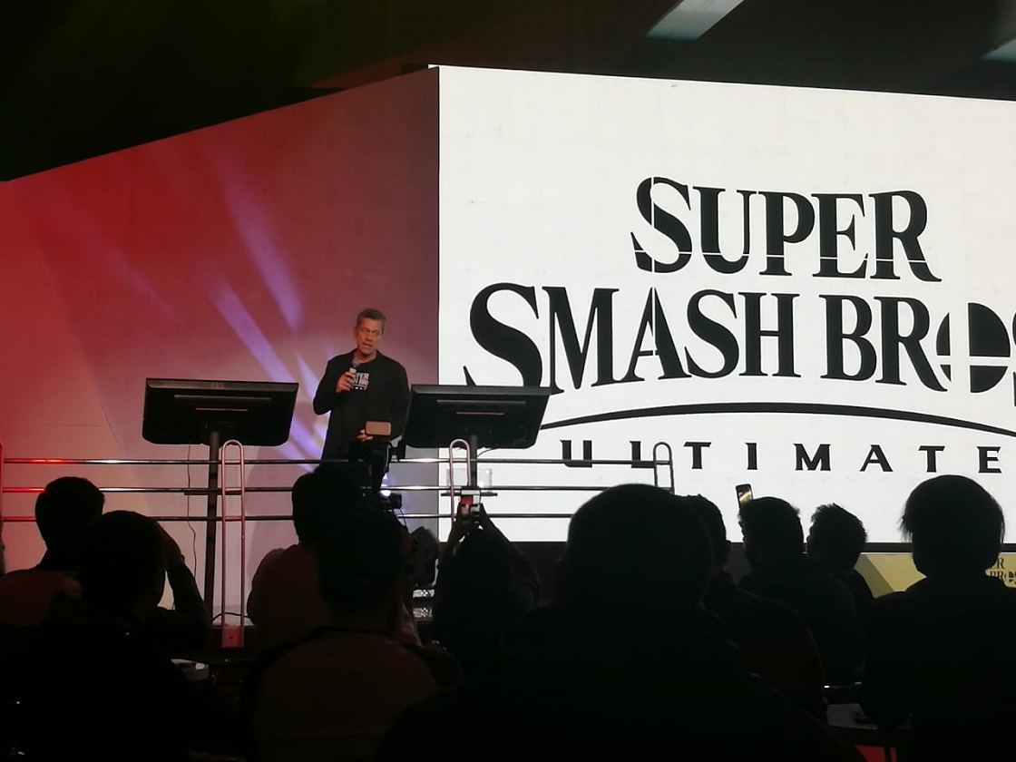 Super Smash Bros. Ultimate – Evento de lanzamiento