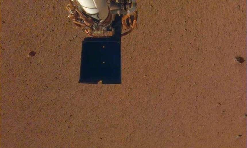 Checa la primer selfie de InSight en Marte