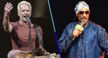 Snoop Dogg y Sting darán un show en Times Square para recibir el 2019