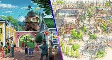 Studio Ghibli publicó nuevos bocetos de su mágico parque temático