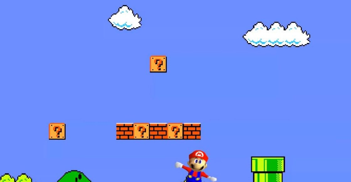 Super Mario en versión de Nintendo 64