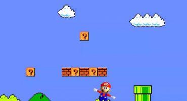 ¡Mira al clásico Super Mario convertirse en su versión de Nintendo 64!