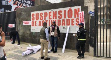 Gobierno de la CDMX suspendió cuatro obras de construcción por irregularidades