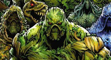 Echemos un vistazo al oscuro, pero romántico set de The Swamp Thing