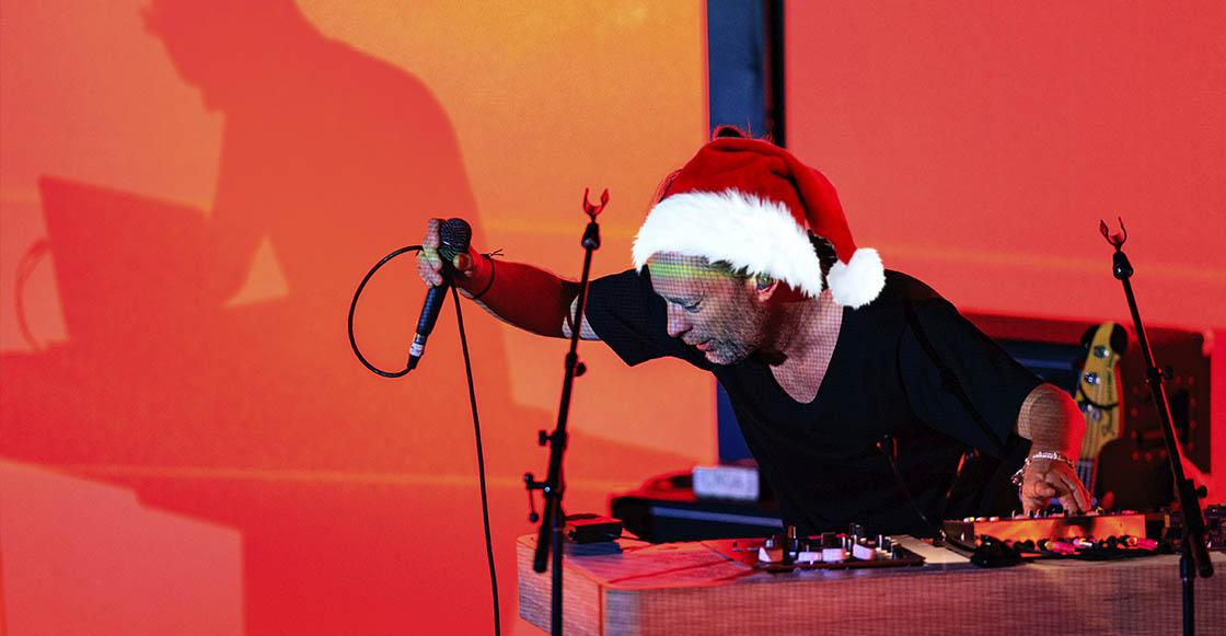 """Escucha la mezcla navideña que hizo Thom Yorke con """"Noche de Paz"""" y """"Reckoner"""""""