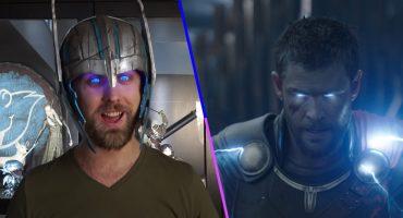 ¿Fans de Marvel? Este chavo creó un casco que hace que tus ojos brillen como los de Thor