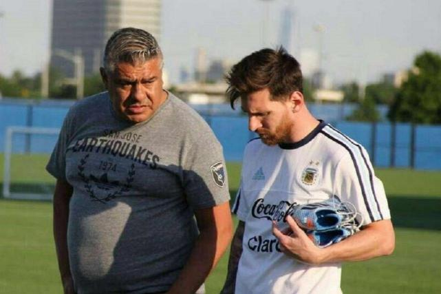 """Presidente de la AFA: """"Messi volverá con la Selección en la siguiente convocatoria"""""""