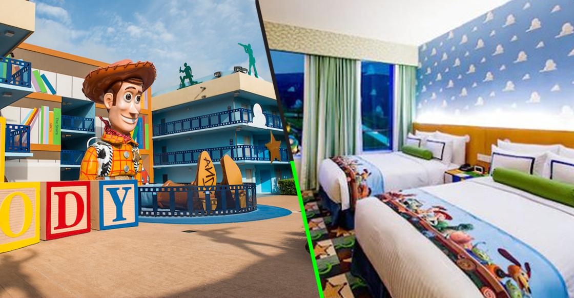 ¡Quítense todos! Habrá un nuevo hotel de Toy Story
