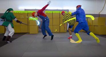 Un épico tributo a Smash Bros. hecho por actores de riesgo de Marvel