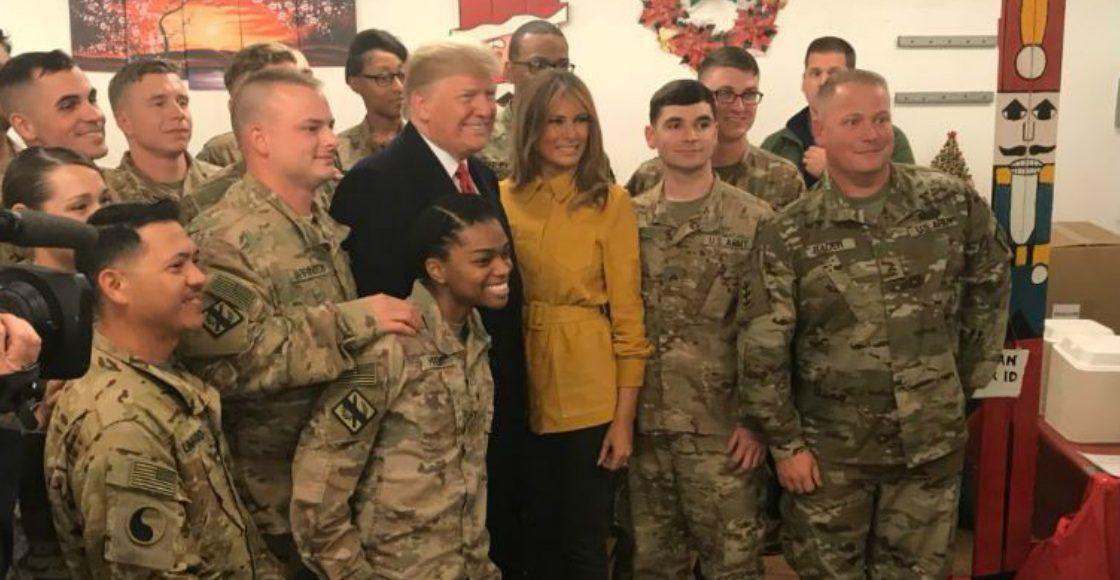 No hay planes de retirar tropas estadounidenses de Irak: Trump