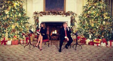 Trump siendo Trump: El presidente rompió así el corazón de un niño que creía en Santa