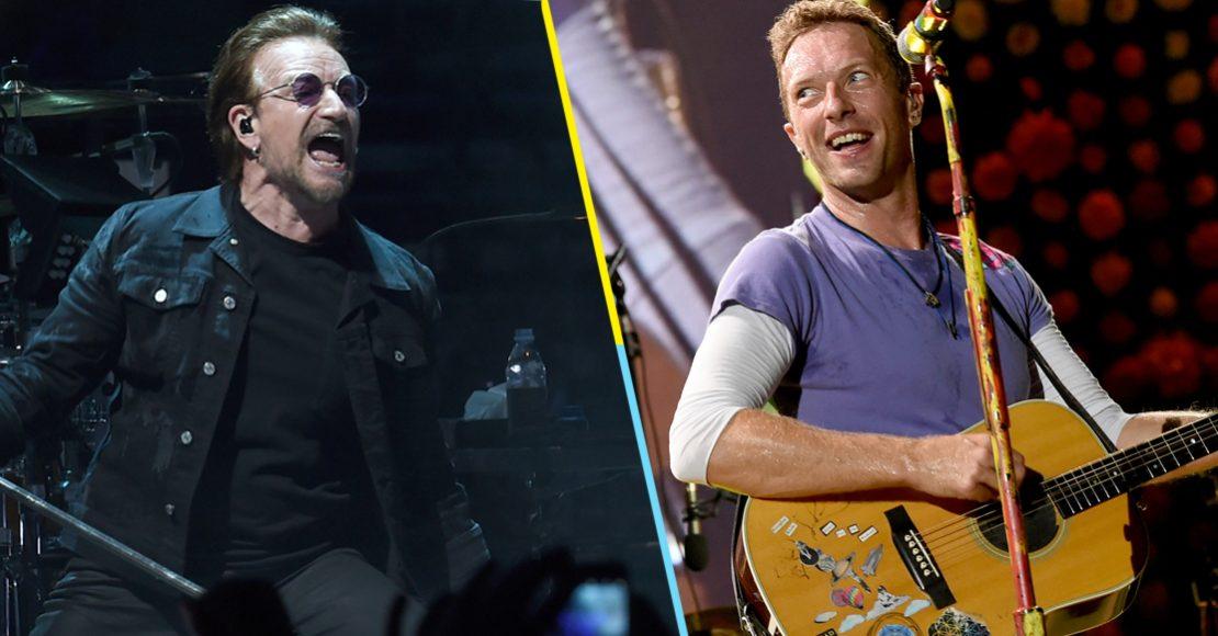 U2 y Coldplay: las bandas mejor pagadas del 2018 según Forbes