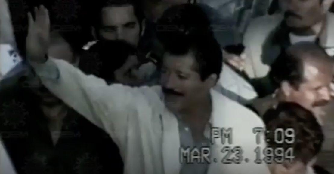Después de 24 años, PGR publica video clasificado sobre el asesinado de Colosio