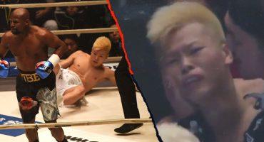 Mayweather cerró el 2018 con KO en tiempo récord y dejó llorando a su rival :(