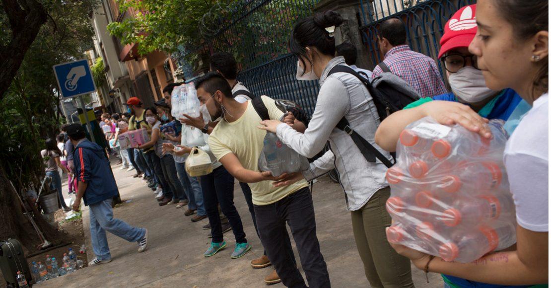 Gobierno de la CDMX lanza Sentika, plataforma para voluntarios en caso de desastre