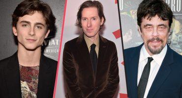 Timothée Chalamet, Benicio del Toro... ellos estarán en el nuevo filme de Wes Anderson