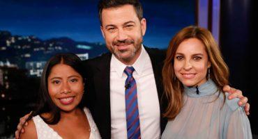 La pregunta incómoda que le hizo Jimmy Kimmel a Yalitza Aparicio