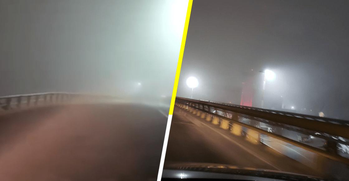 Continúa la suspensión de aterrizajes en el AICM por banco de niebla