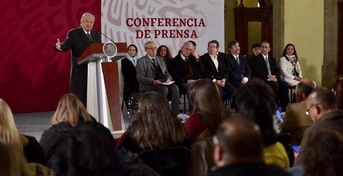 """""""No pueden estar en el gobierno"""" funcionarios vinculados La Estafa Maestra, dice AMLO"""