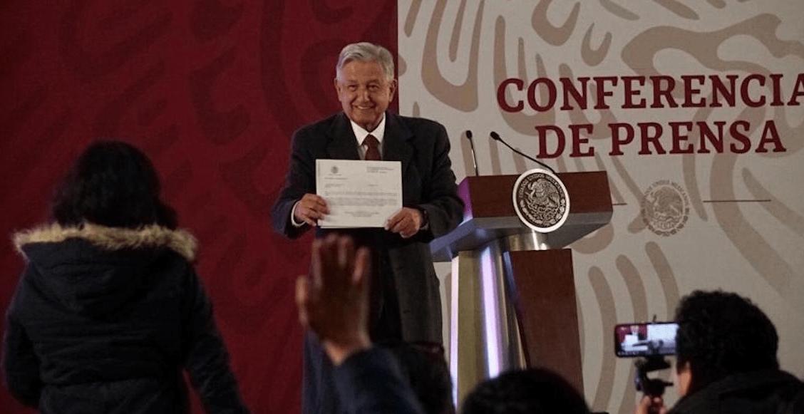 """Sin el """"rancho"""" de Palenque, AMLO presenta su declaración patrimonial"""