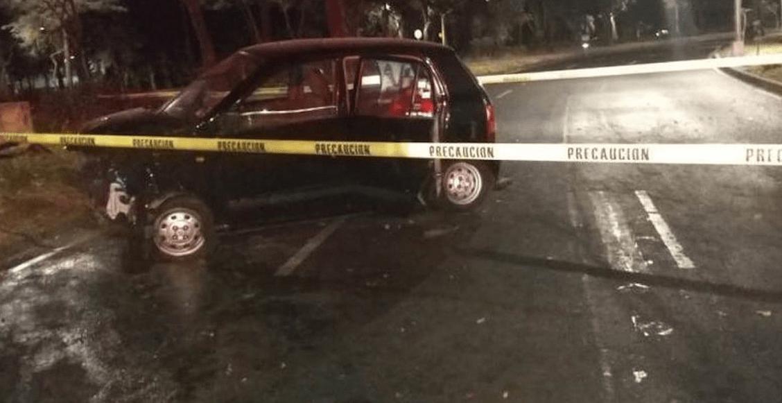 Una mujer pierde la vida en accidente automovilístico en Lomas de Chapultepec