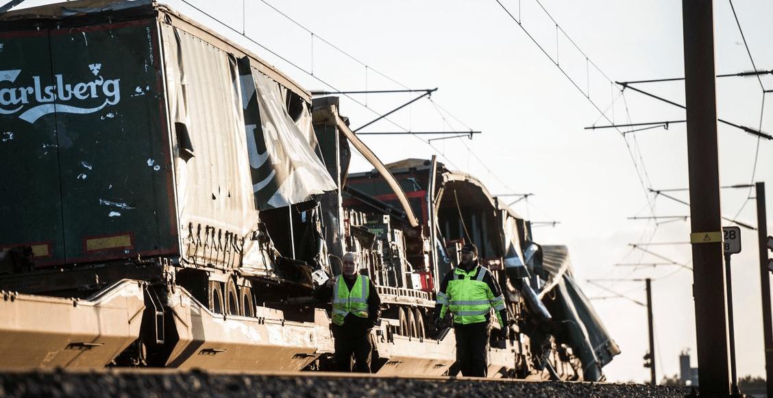 Al menos seis personas perdieron la vida en accidente de tren en Dinamarca