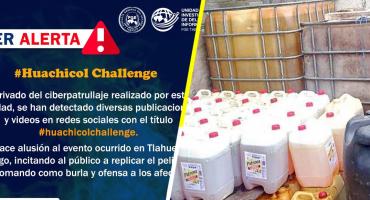 Fiscalía General de Tabasco alerta contra el #HuachicolChallenge