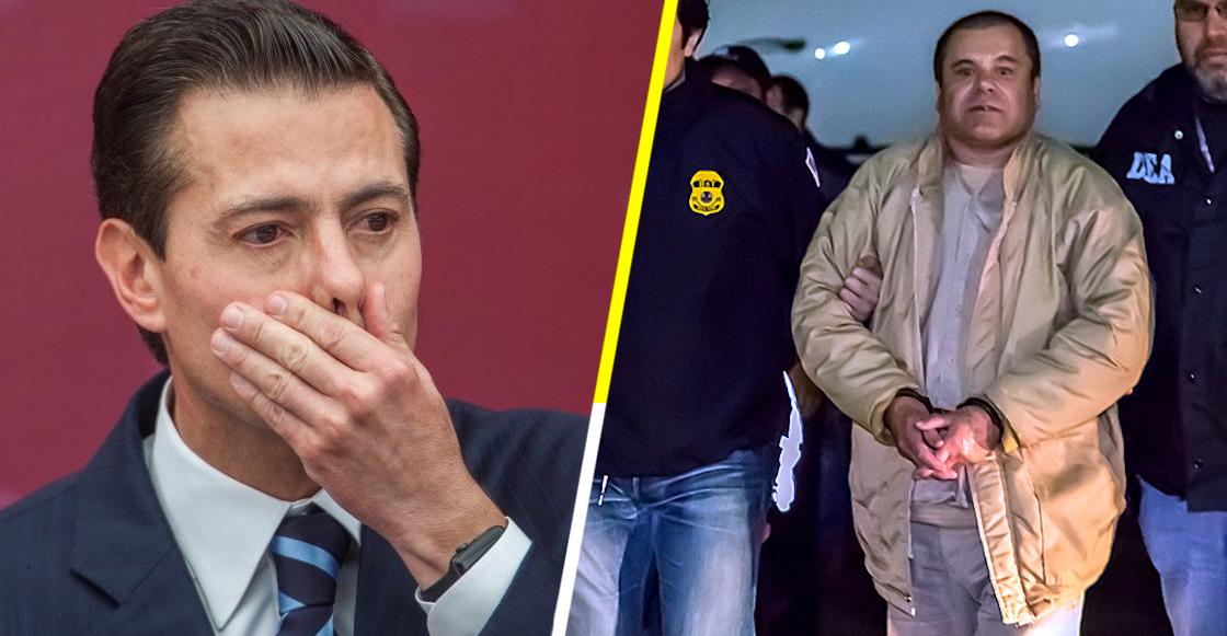 ¡Sopas! Testigo afirma el Chapo sobornó a EPN con cien millones de dólares